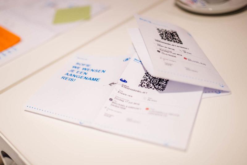 Het voorstel van de nieuwe e-tickets